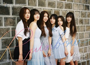 GFRIEND The 5th Mini Album Repackage 'RAINBOW' Group Teaser Image