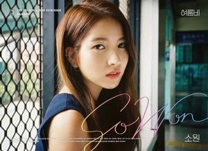 GFRIEND The 5th Mini Album Repackage 'RAINBOW' Individual Teaser Image - Sowon