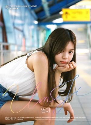 GFRIEND The 5th Mini Album Repackage 'RAINBOW' Individual Teaser Image - Umji