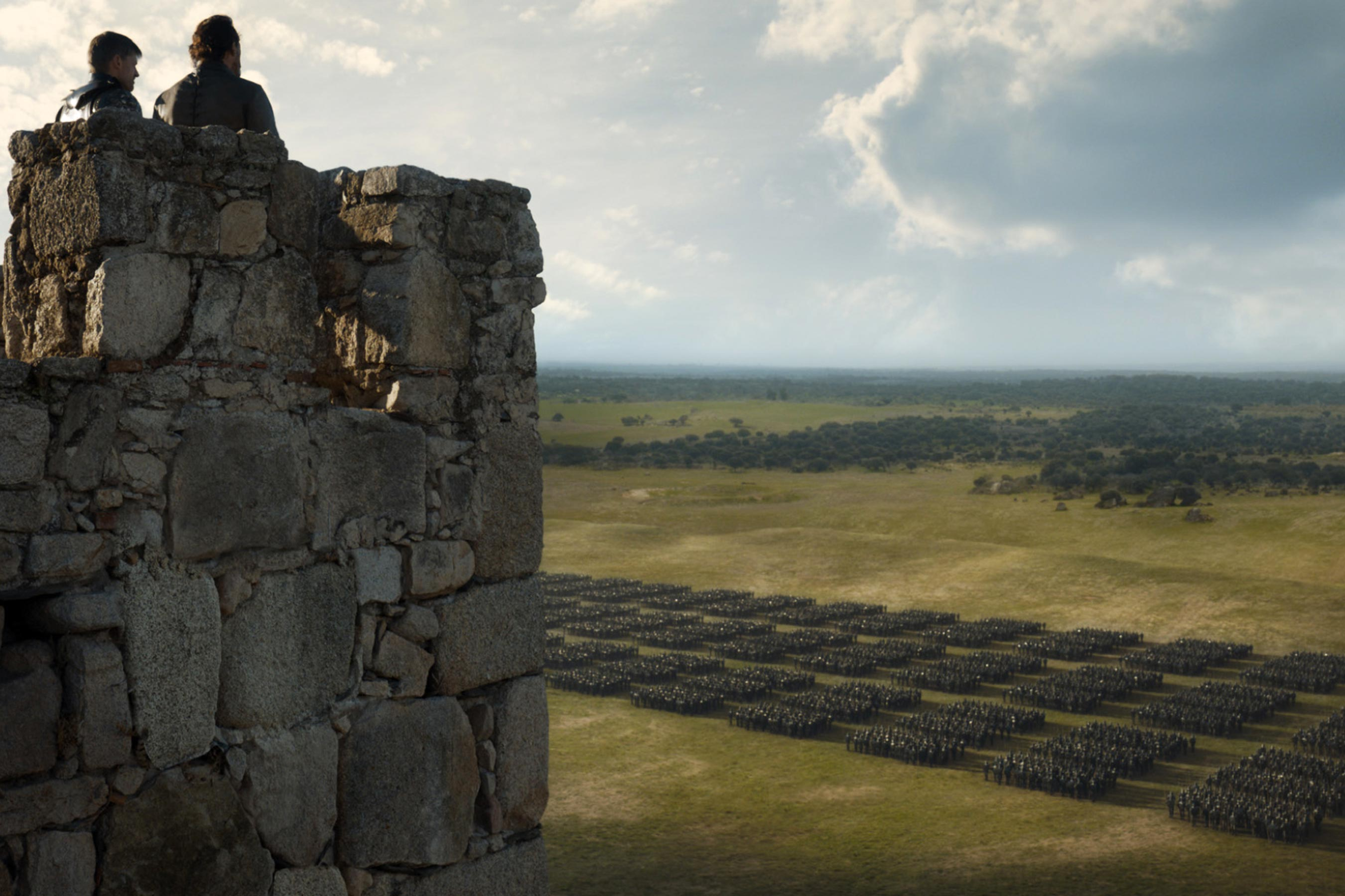 Game of Thrones - Episode 7.07 - The Dragon and the lobo