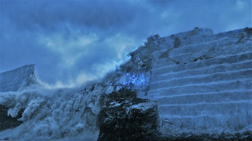laro ng trono wolpeyper entitled Game of Thrones - Episode 7.07 - The Dragon and the lobo