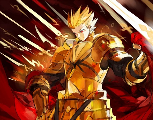 Fate Series wolpeyper called Gilgamesh