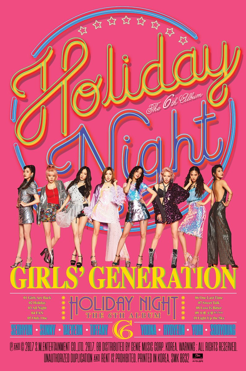 Girls Generation 'Holiday Night' - Group Teaser