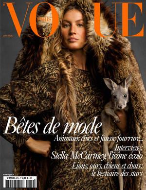 Gisele for Vogue Paris [August 2017]