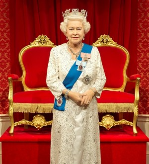 A Waxwork Of Her Majesty