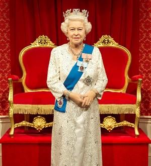 A Waxwork Of Her Majesty