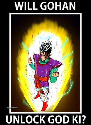 Gohan Super Sayian God