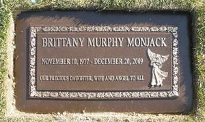 Gravesite Of Brittany Murphy