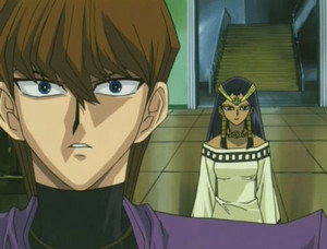Group ep52 Isis Kaiba in shock