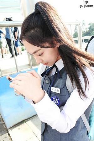 Gugudan's Mina @ MBC New Drama '20th Century Boy and Girl'