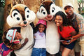 Hanging Out With Chip And Dale - disney photo