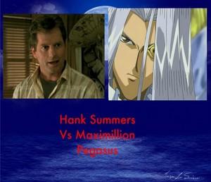 Hank Summers Vs Maximillion Pegasus