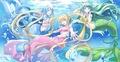 Hanon/Luchia/Rina - mermaid-melody photo