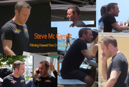 Hawaii Five-0 (2010) wallpaper called Hawaii Five 0 - Filming Season 8