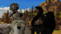 He messed up with wrong wolf - alpha-and-omega fan art