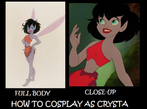 How to cosplay as Crysta