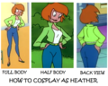 How to cosplay as Heather  - cartoons wallpaper