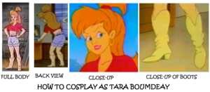 How to cosplay as Tara Boumdeay