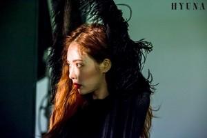 HyunA 6th Mini Album 'Following' koti, jacket Shooting Behind