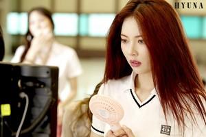 HyunA 'BABE' MV Shooting Site