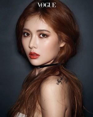 Hyuna for Vogue September 2017 Issue