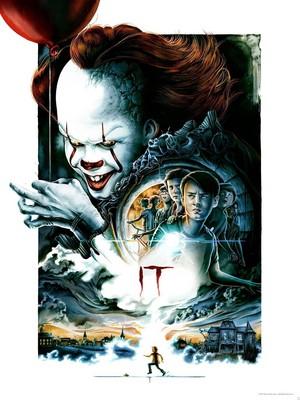 IT (2017) tagahanga Poster