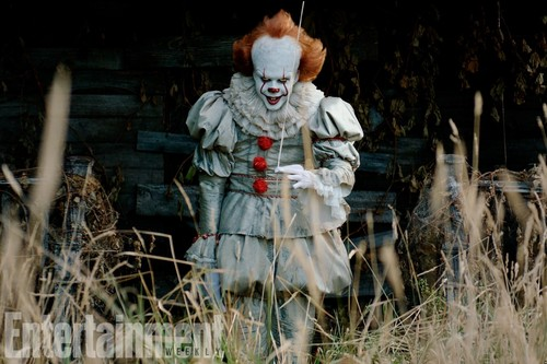 Horror films achtergrond called IT (2017) Pennywise