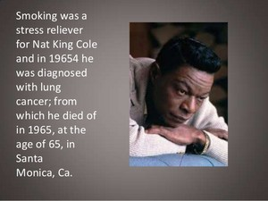 "Information On Nat ""King"" Cole"