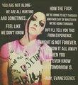 Inspiring Quotes - evanescence photo