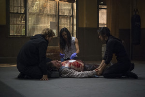 Iron Fist - Season 1 Still - Danny, Colleen and Claire