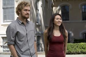 Iron Fist - Season 1 Still - Danny and Colleen