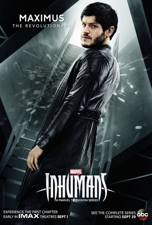 Iwan Rheon as Maxius in Marvel's Inhumans Season 1 Official Picture
