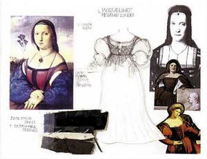 Jacqueline de Ghent's concept 디자인
