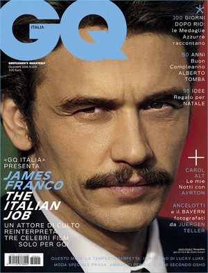 James Franco - GQ Italy Cover - 2016