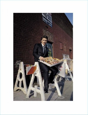 James Franco - GQ Italy Photoshoot - 2016