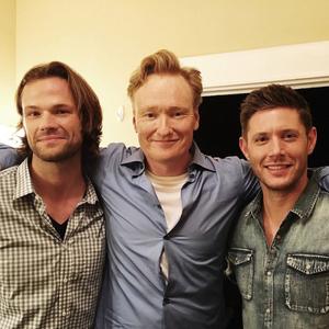 Jared, Jensen and Conan O'Brien