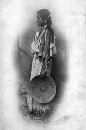 Jicarilla Apache woman sejak Frank A. Randall 1883-1888