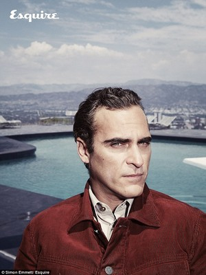Joaquin Phoenix - Esquire Photoshoot - 2013