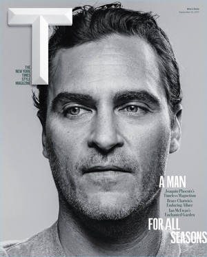 Joaquin Phoenix - New York Times Style Cover - 2017