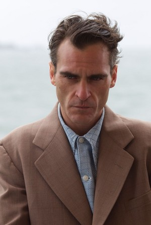 Joaquin Phoenix as Freddie Quell in The Master (2012)