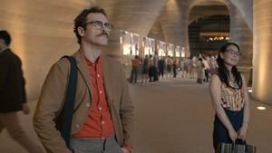 Joaquin Phoenix as Theodore in Her (2013)