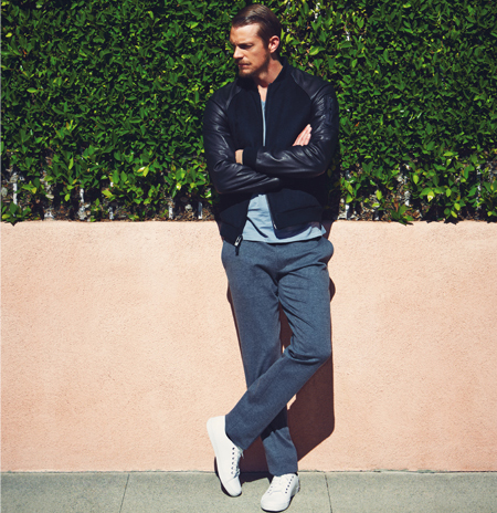 Joel Kinnaman Hintergrund entitled Joel Kinnaman - Sharp Magazine Photoshoot - 2015