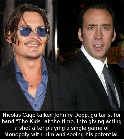 Johnny Depp and Nikolas Cage