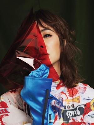 Jolin Tsai for ZINE Magazine TW June 2017
