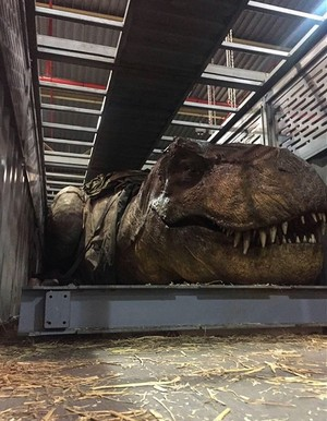 Jurassic World Fallen Kingdom: Rexy Animatronic