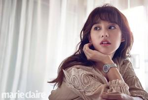 KIM JI WON FOR SEPTEMBER 2017 MARIE CLAIRE