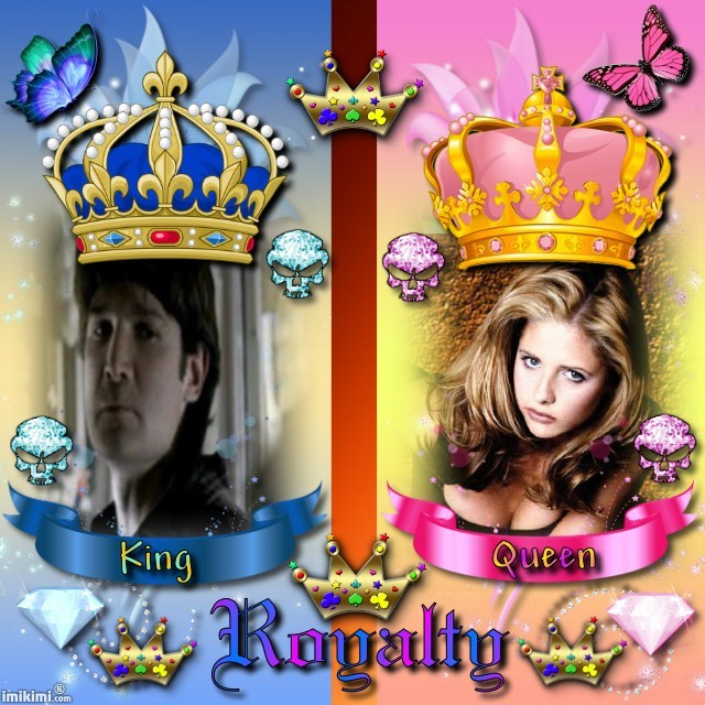 Crossovers King And Queen: BtVS/Lost Boys Crossover Fanart