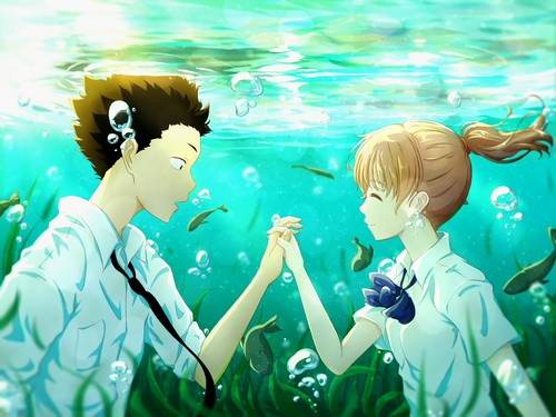 Koe no Katachi wallpaper entitled Koe no Katachi.