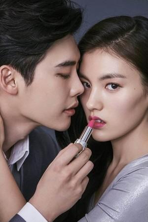 LEE JONG SUK AND KIM YONG JI FOR CELEBEAU 2017