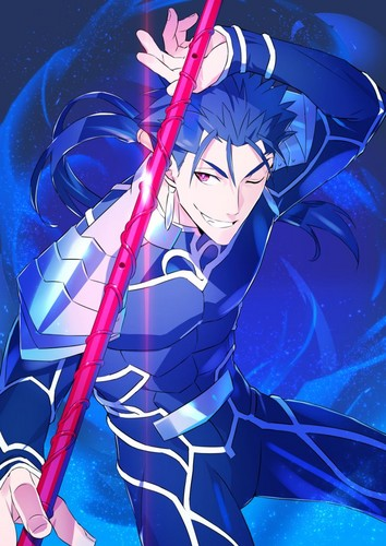 Fate Series پیپر وال entitled Lancer (stay night)